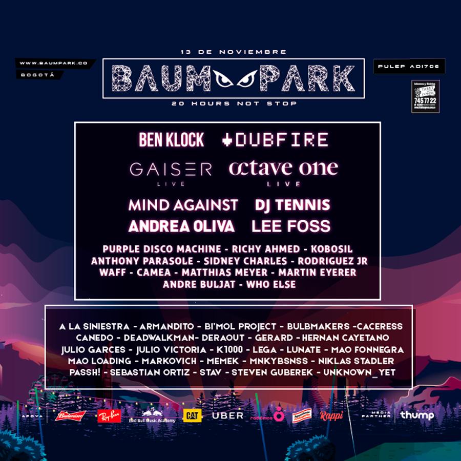 BAUM Park Bogotá 2016