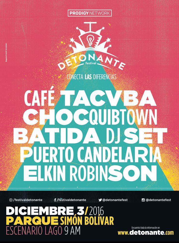 Festival Detonante Quibdó 2016